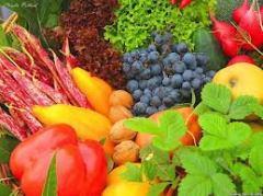 photo of fruits and veggies