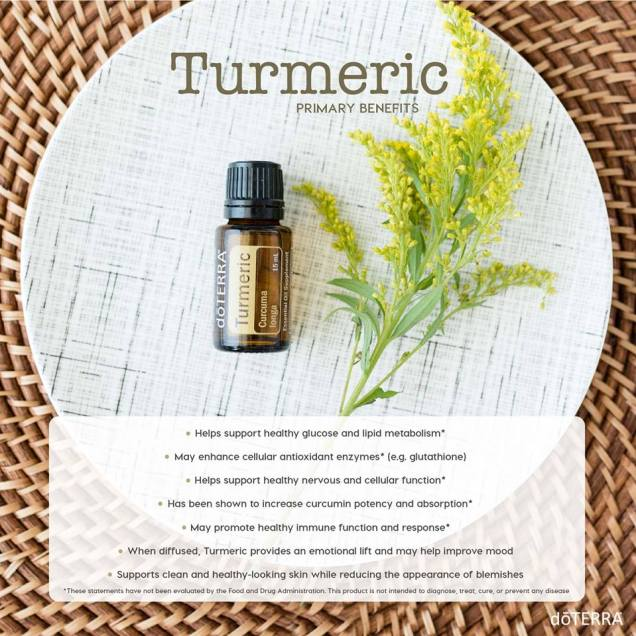 Turmeric Primary Benefits